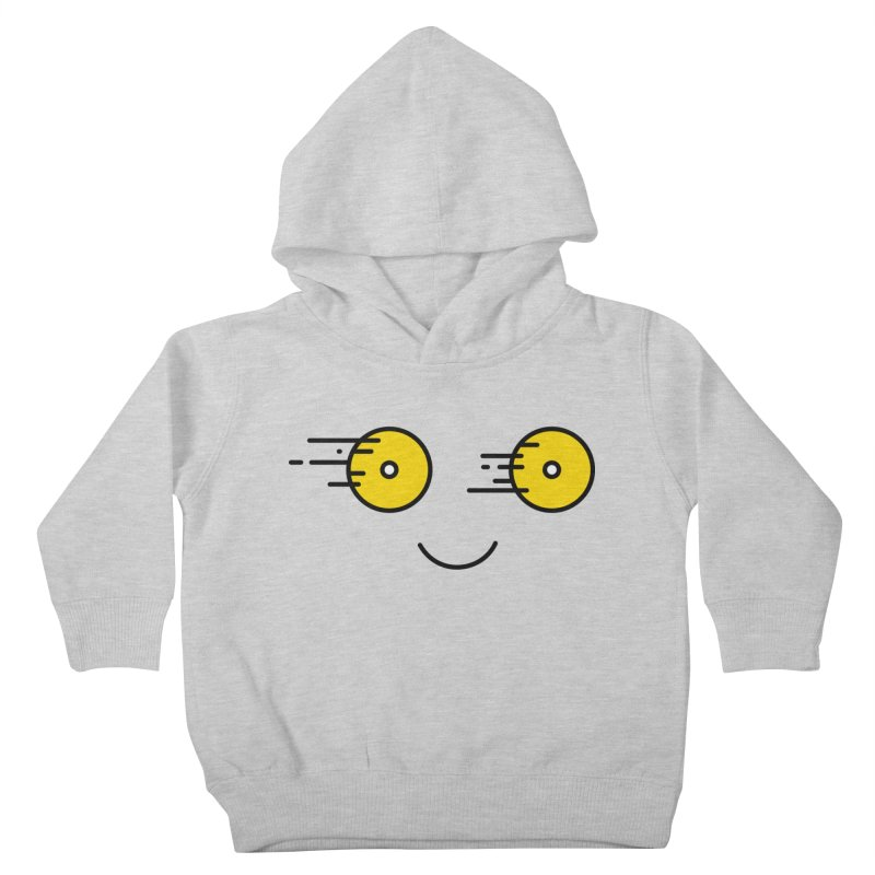 Happy Speedy Wheels Kids Toddler Pullover Hoody by Illustrations by Phil