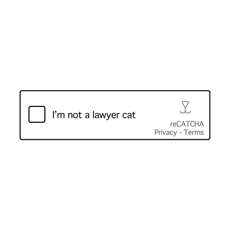 Not a Lawyer Cat Home Duvet by Illustrations by Phil