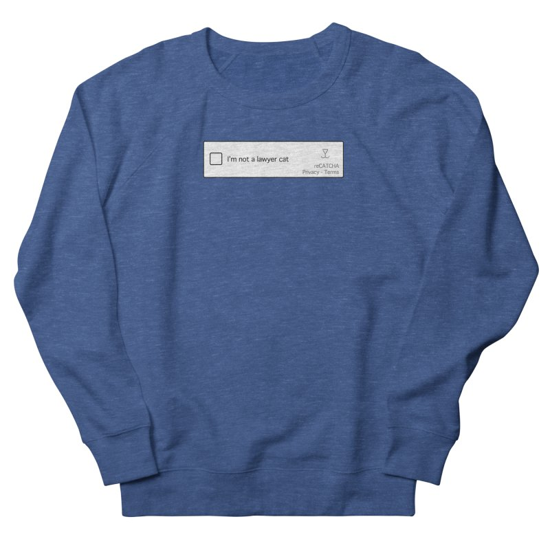 Not a Lawyer Cat Men's Sweatshirt by Illustrations by Phil