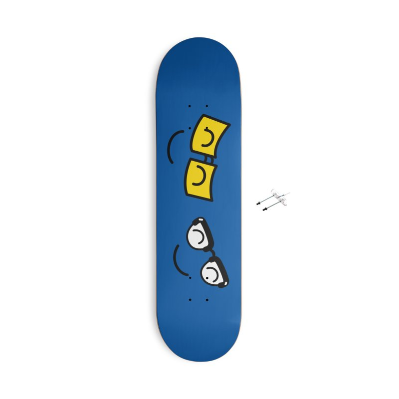 Eight Eyes Accessories Skateboard by Illustrations by Phil