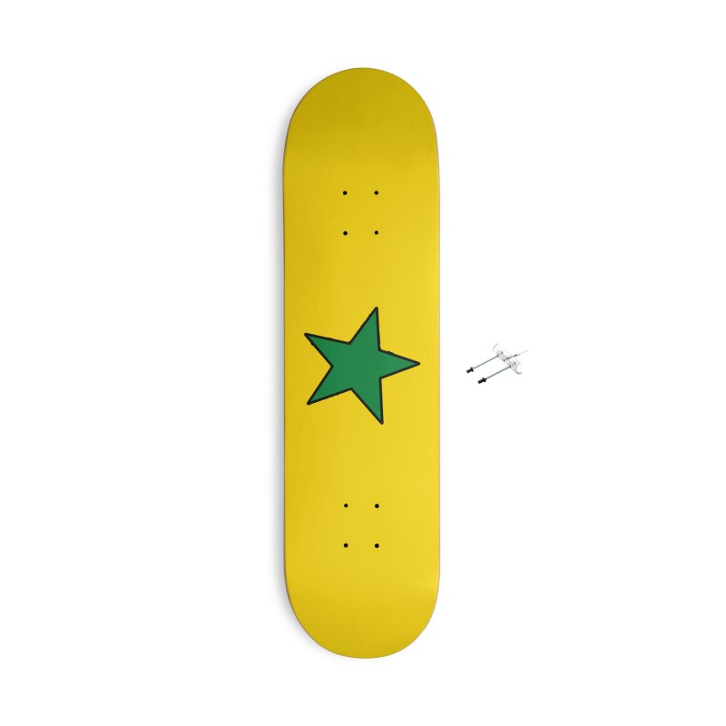 Star-belly Sneetch Accessories Skateboard by Illustrations by Phil