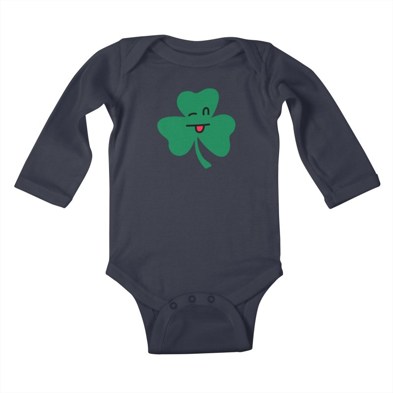 Bronx Cheer Kids Baby Longsleeve Bodysuit by Illustrations by Phil