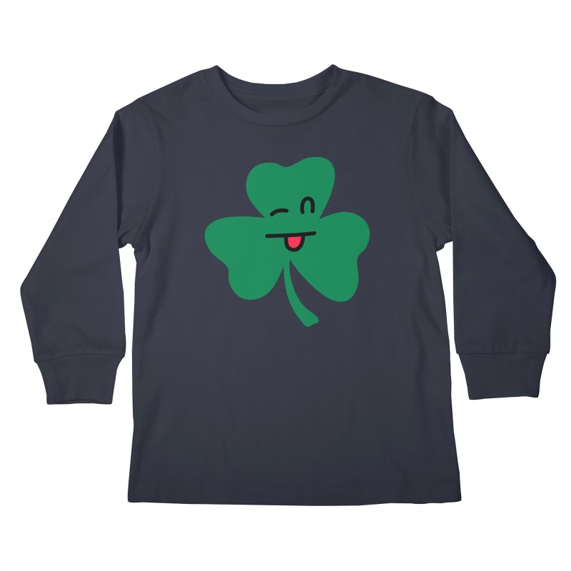 Bronx Cheer Kids Longsleeve T-Shirt by Illustrations by Phil