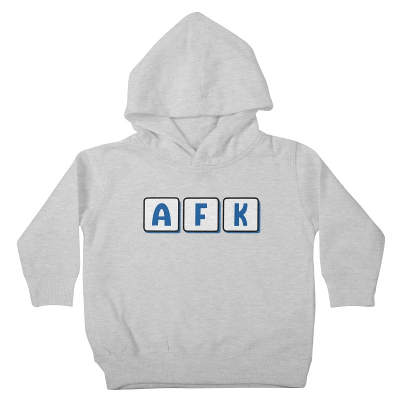 Away From Keyboard Kids Toddler Pullover Hoody by Illustrations by Phil
