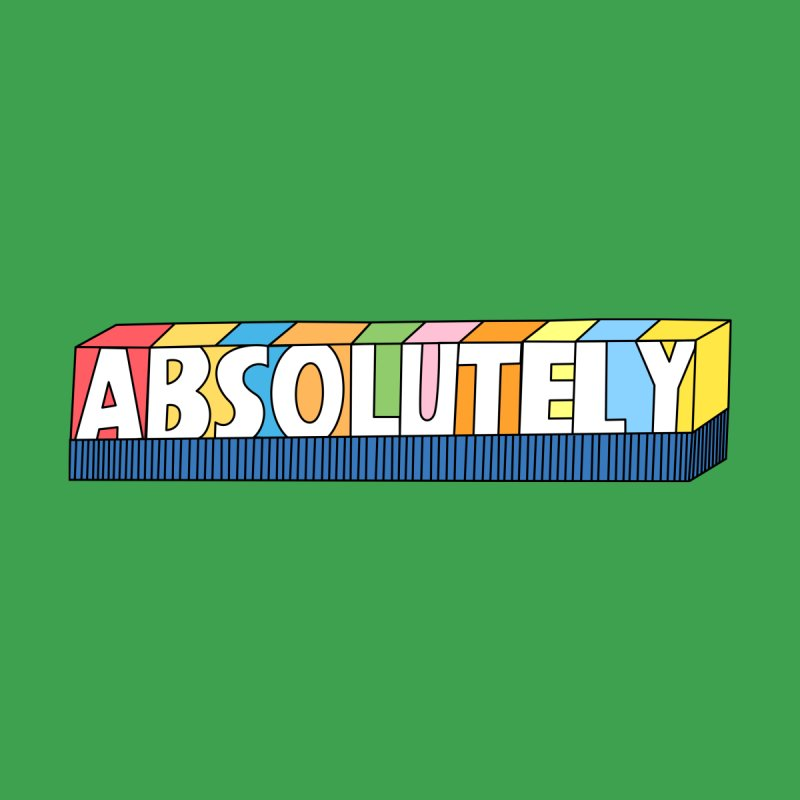 ABSOLUTELY Home Blanket by Illustrations by Phil