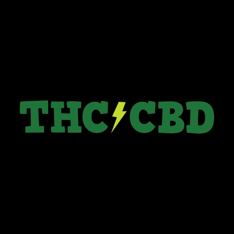 THC/CBD Accessories Skateboard by Illustrations by Phil