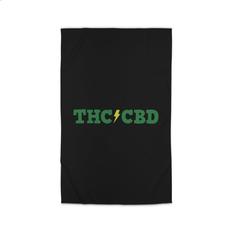 THC/CBD Home Rug by Illustrations by Phil