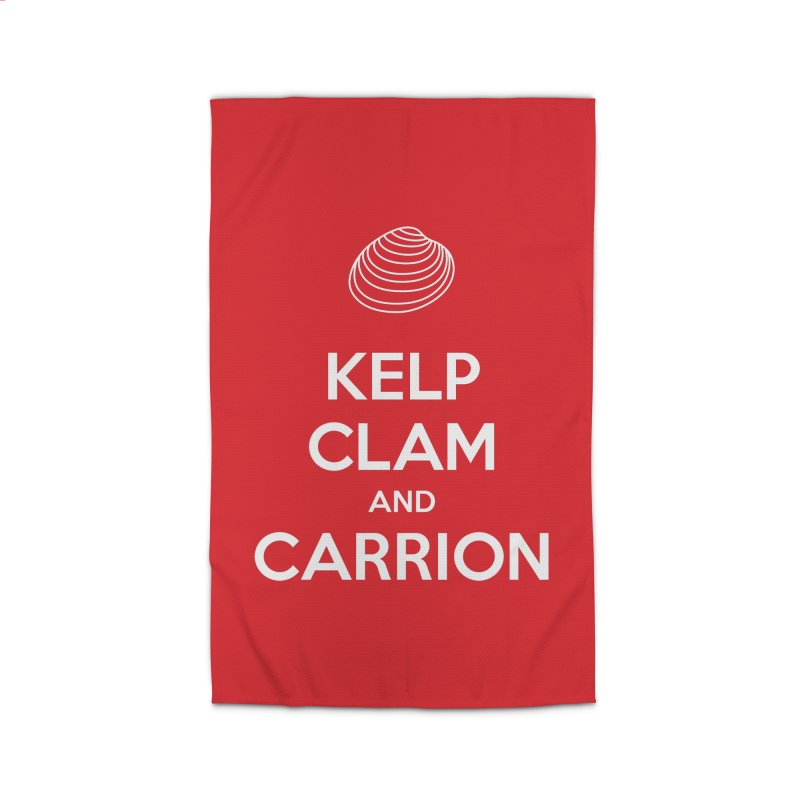 KELP, CLAM, AND CARRION Home Rug by Illustrations by Phil
