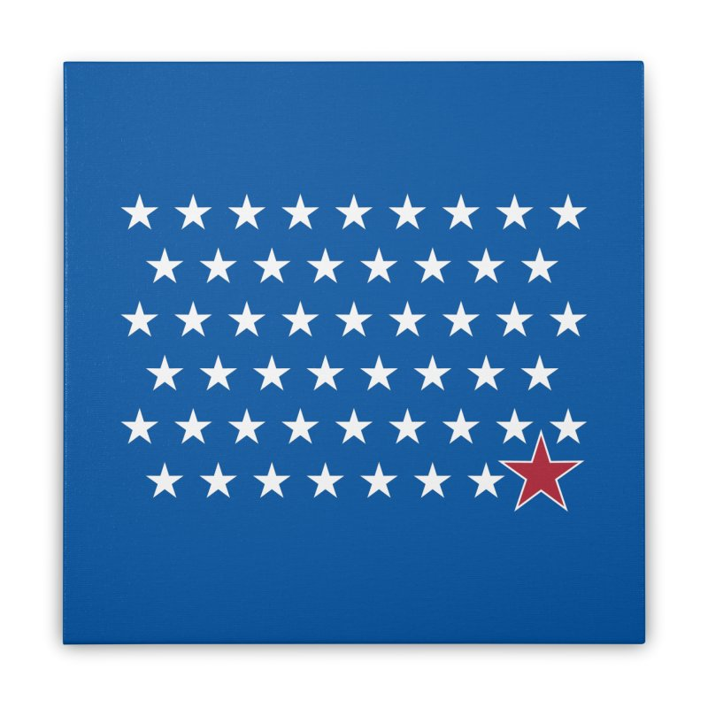 D.C. - the 51st State! Home Stretched Canvas by Illustrations by Phil