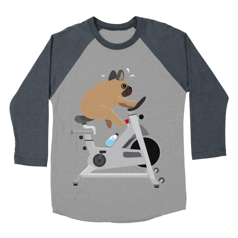 Dog Tired Women's Baseball Triblend Longsleeve T-Shirt by Illustrations by Phil