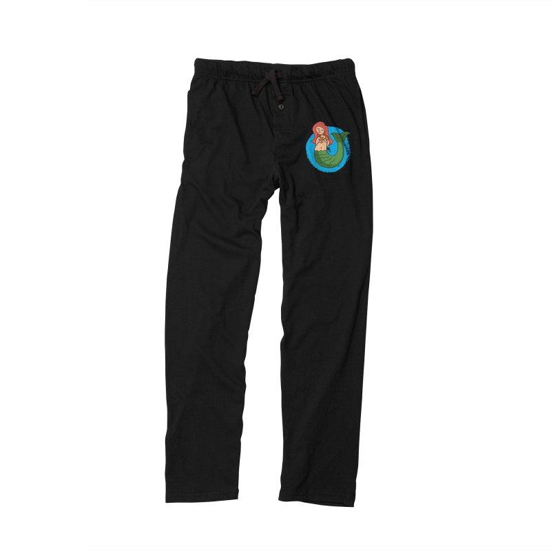 Bashful Mermaid Women's Lounge Pants by Phillustrations's Artist Shop
