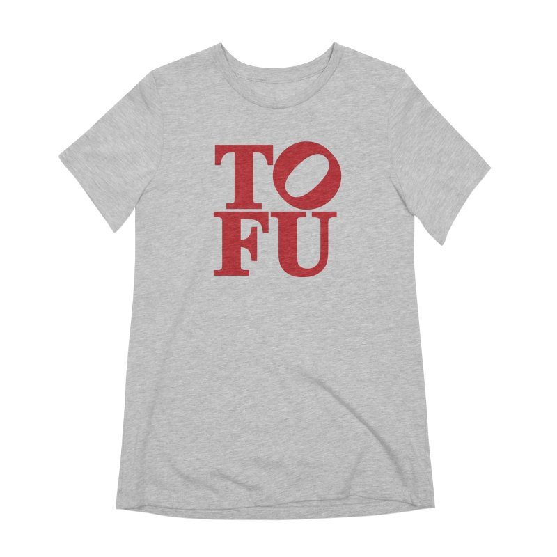 TOFU Love Women's Extra Soft T-Shirt by Illustrations by Phil