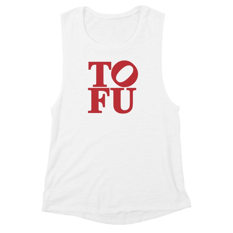 TOFU Love Women's Muscle Tank by Illustrations by Phil