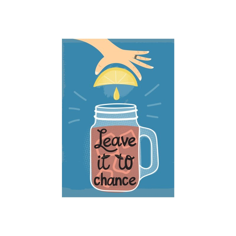 Leave it to chance (v) Accessories Notebook by Illustrations by Phil