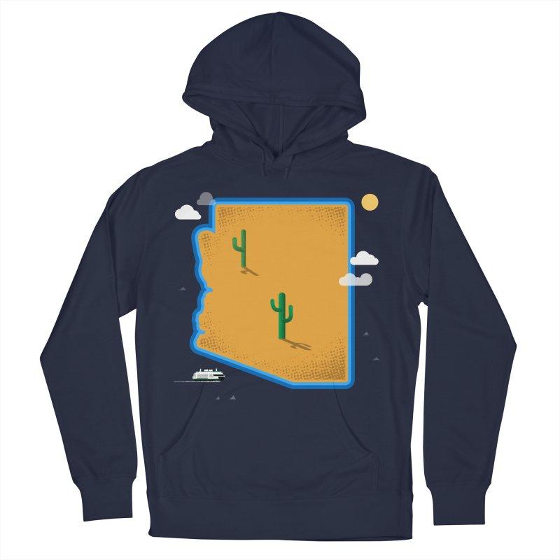 Arizona Island Men's Pullover Hoody by Phillustrations's Artist Shop