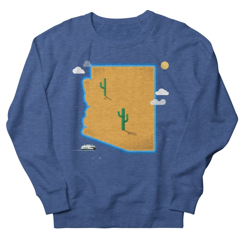 Arizona Island Men's Sweatshirt by Phillustrations's Artist Shop