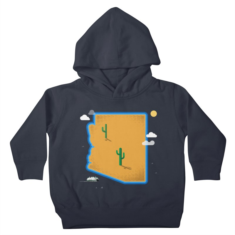 Arizona Island Kids Toddler Pullover Hoody by Phillustrations's Artist Shop
