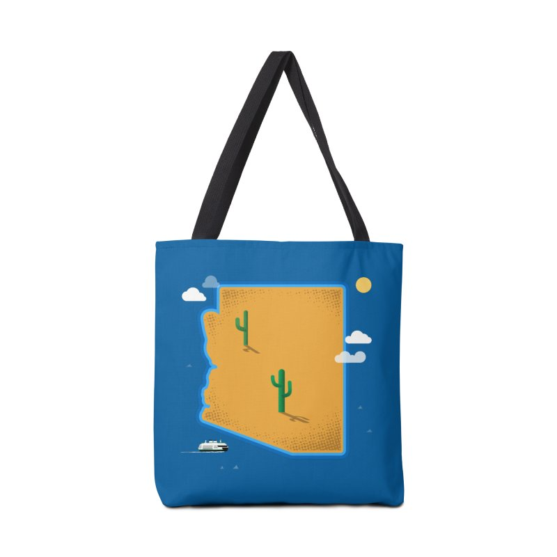 Arizona Island Accessories Bag by Phillustrations's Artist Shop
