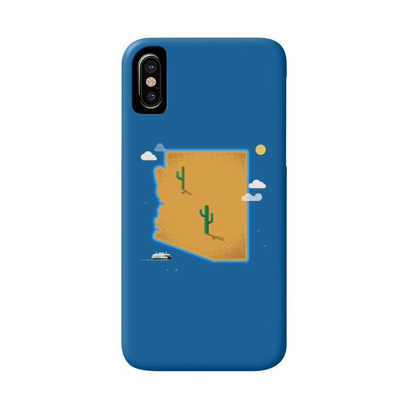 Arizona Island Accessories Phone Case by Phillustrations's Artist Shop
