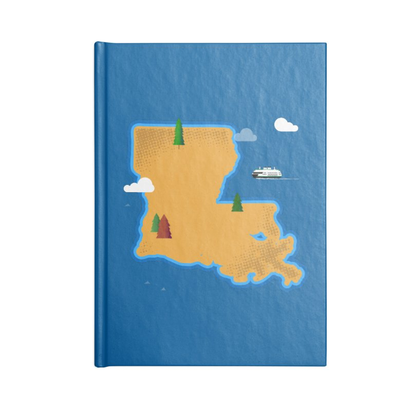 Louisiana Island Accessories Notebook by Phillustrations's Artist Shop