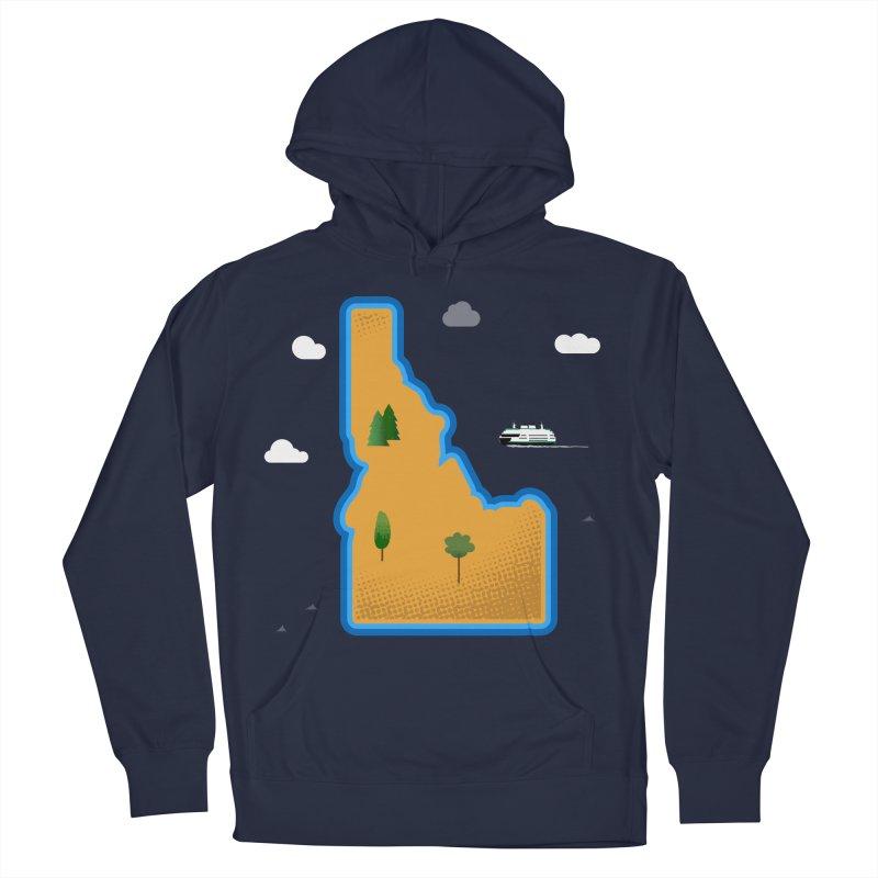Idaho Island Men's Pullover Hoody by Phillustrations's Artist Shop