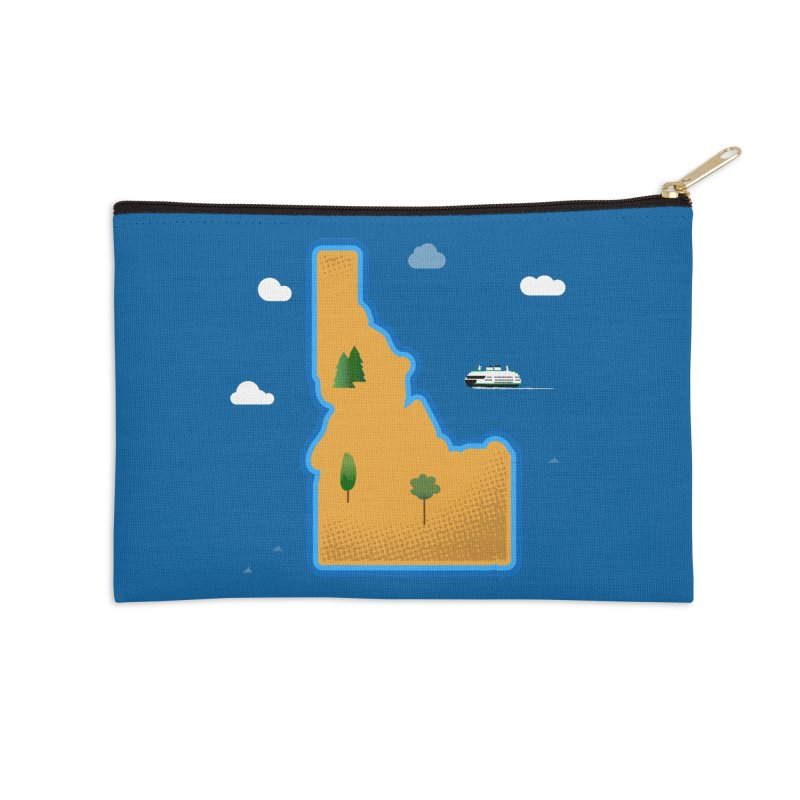 Idaho Island Accessories Zip Pouch by Phillustrations's Artist Shop
