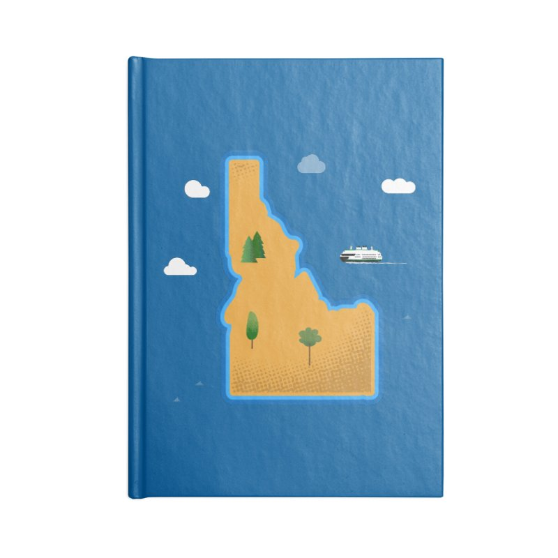 Idaho Island Accessories Notebook by Phillustrations's Artist Shop
