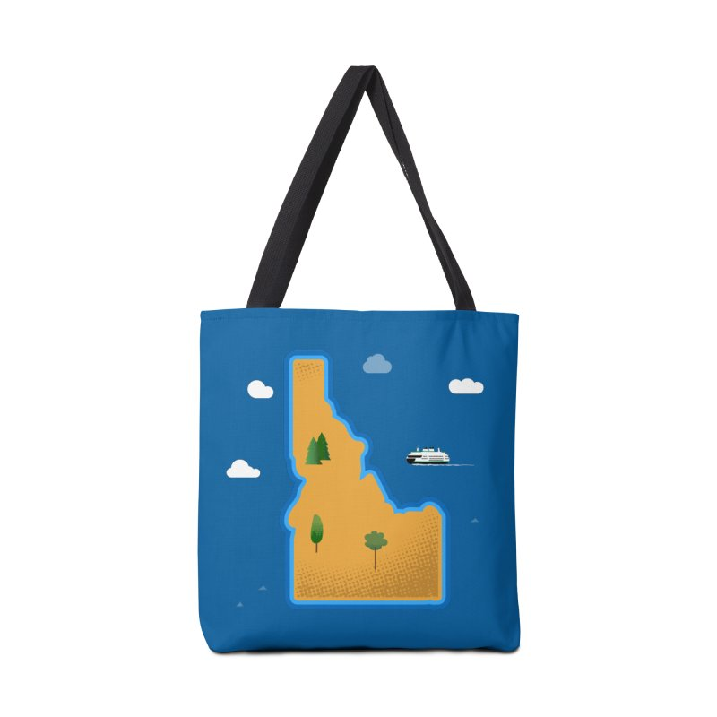 Idaho Island Accessories Bag by Phillustrations's Artist Shop