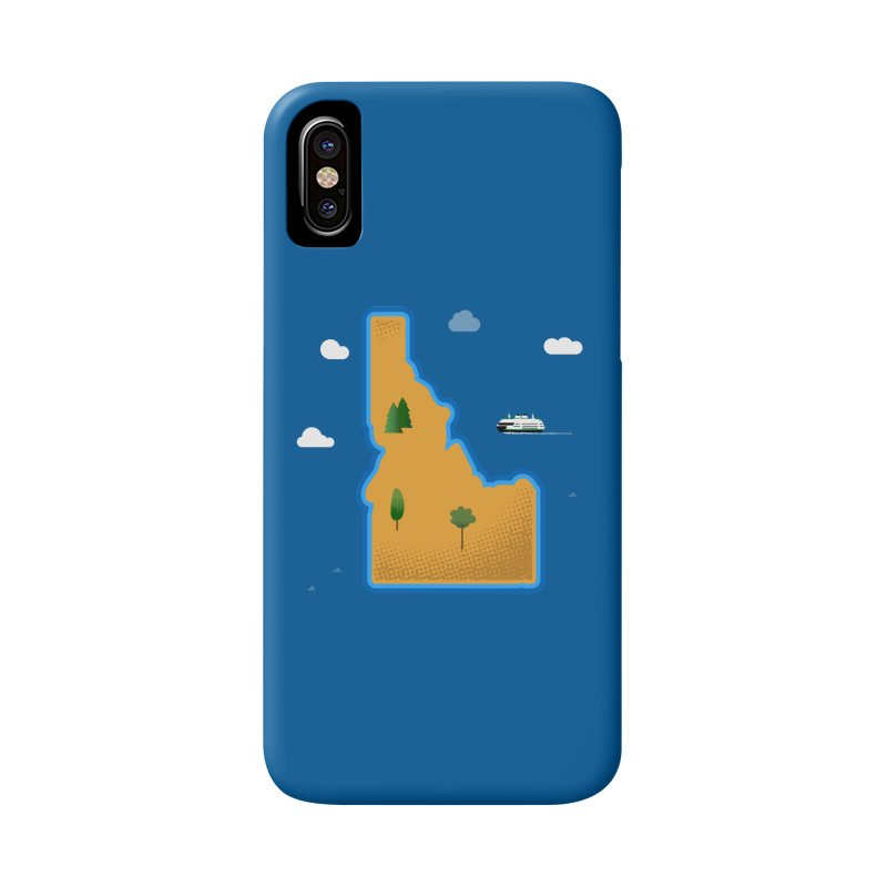 Idaho Island Accessories Phone Case by Phillustrations's Artist Shop
