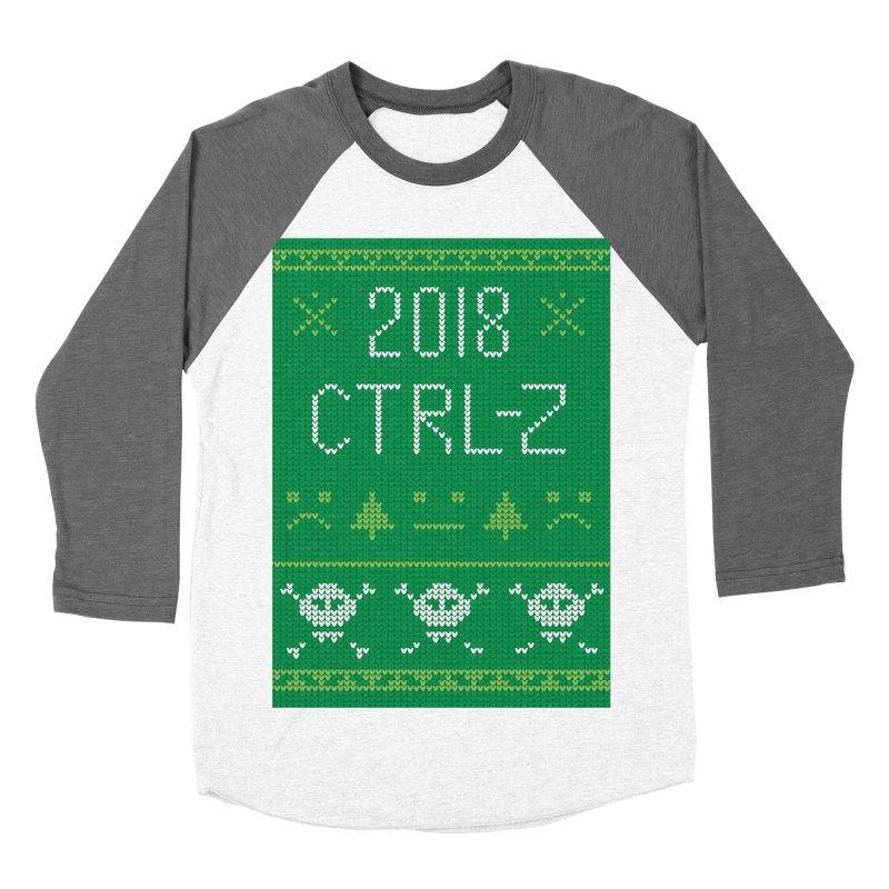 Undo 2018 Women's Baseball Triblend T-Shirt by Phillustrations's Artist Shop