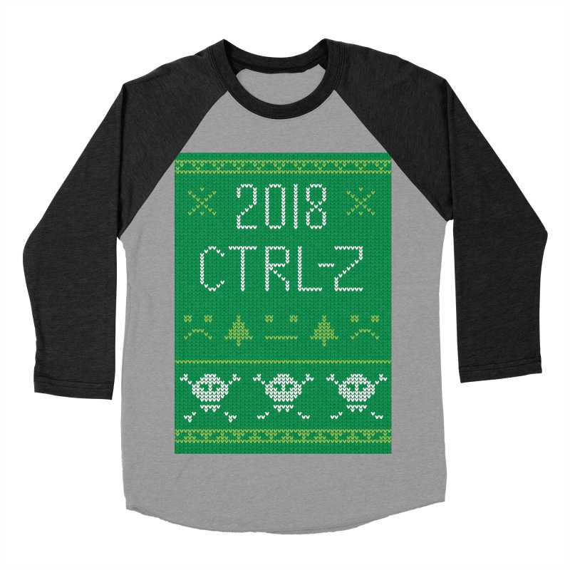 Undo 2018 Women's Baseball Triblend Longsleeve T-Shirt by Illustrations by Phil