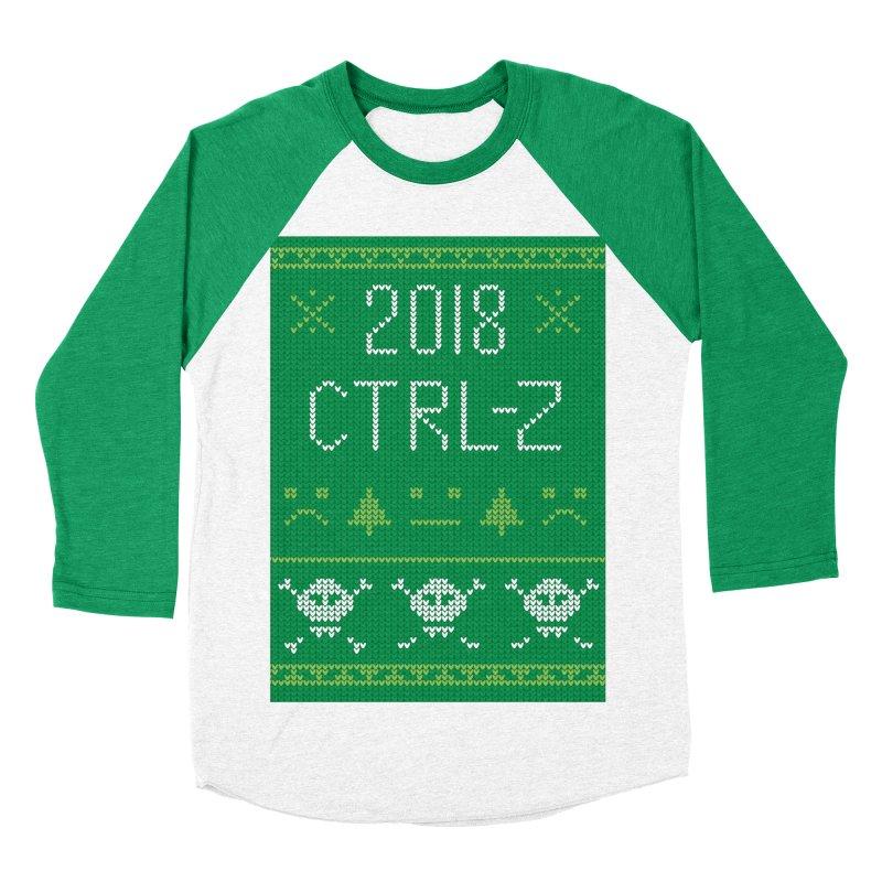 Undo 2018 Men's Baseball Triblend T-Shirt by Phillustrations's Artist Shop