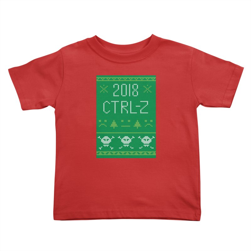 Undo 2018 Kids Toddler T-Shirt by Phillustrations's Artist Shop