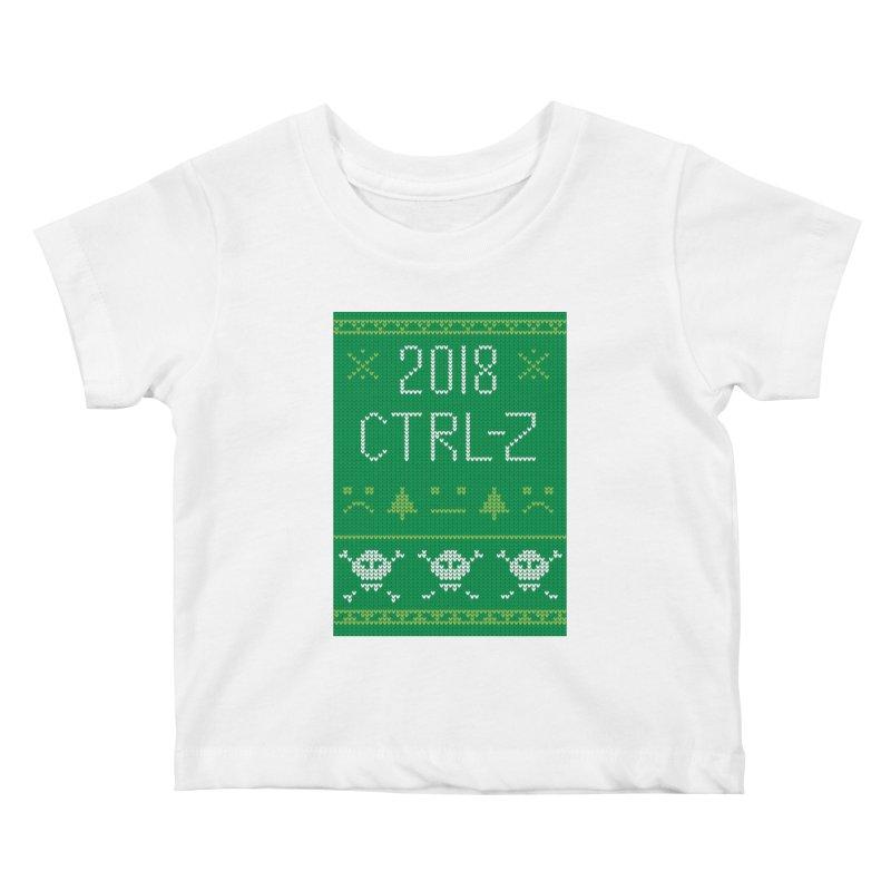 Undo 2018 Kids Baby T-Shirt by Phillustrations's Artist Shop