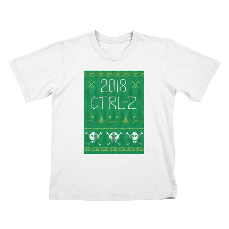 Undo 2018 Kids T-Shirt by Phillustrations's Artist Shop