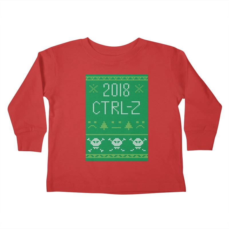 Undo 2018 Kids Toddler Longsleeve T-Shirt by Illustrations by Phil