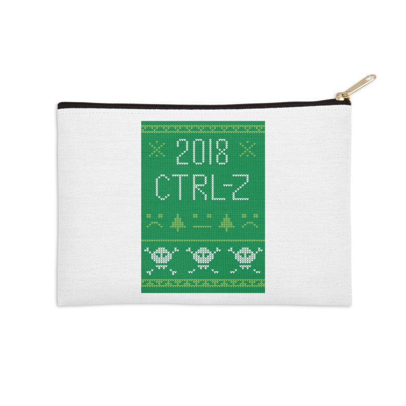 Undo 2018 Accessories Zip Pouch by Phillustrations's Artist Shop