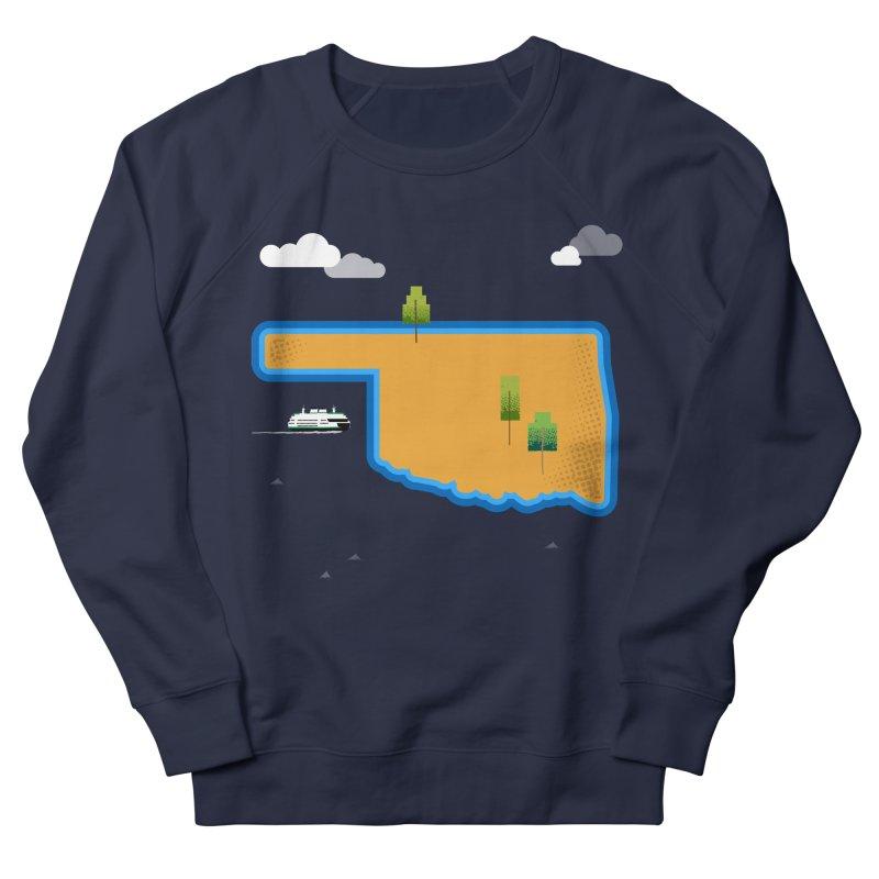 Oklahoma Island Men's Sweatshirt by Phillustrations's Artist Shop
