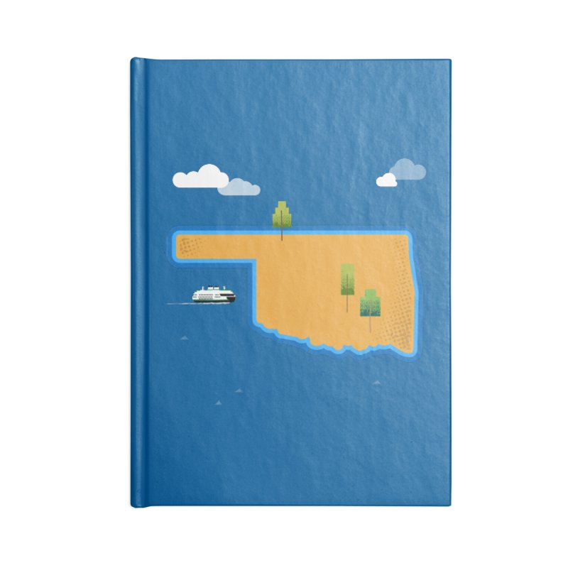 Oklahoma Island Accessories Notebook by Phillustrations's Artist Shop