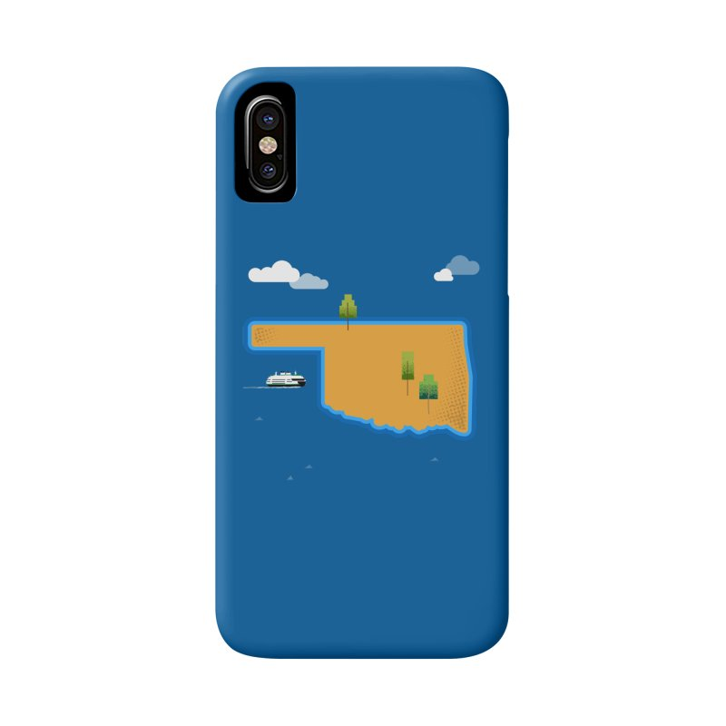 Oklahoma Island Accessories Phone Case by Phillustrations's Artist Shop