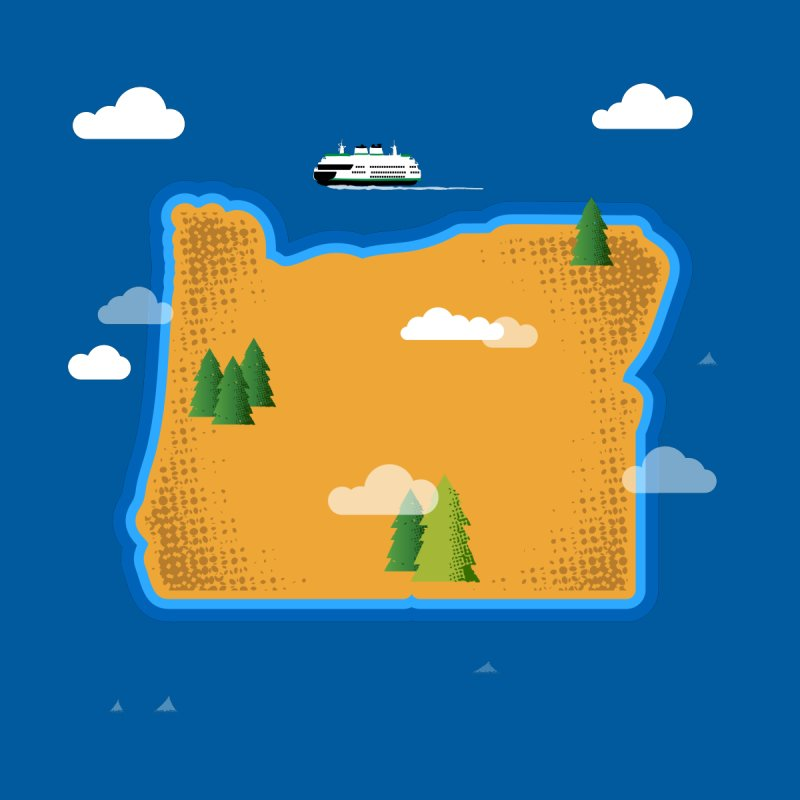 Oregon Island   by Illustrations by Phil