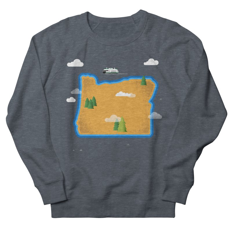 Oregon Island Women's Sweatshirt by Phillustrations's Artist Shop