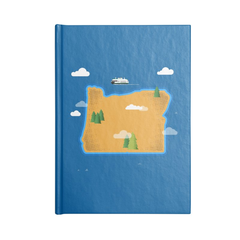 Oregon Island Accessories Notebook by Phillustrations's Artist Shop