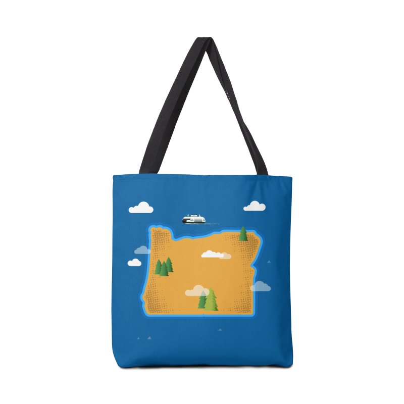 Oregon Island Accessories Bag by Phillustrations's Artist Shop