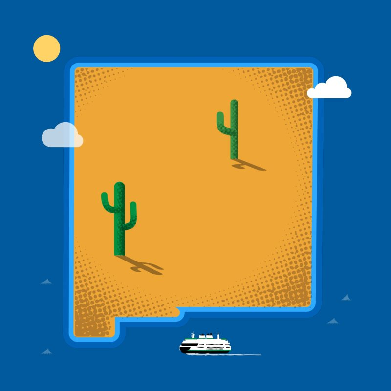New Mexico Island None  by Illustrations by Phil