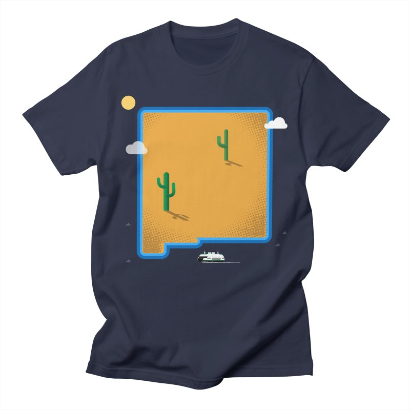 New Mexico Island Women's Unisex T-Shirt by Phillustrations's Artist Shop