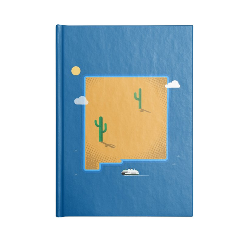 New Mexico Island Accessories Notebook by Phillustrations's Artist Shop
