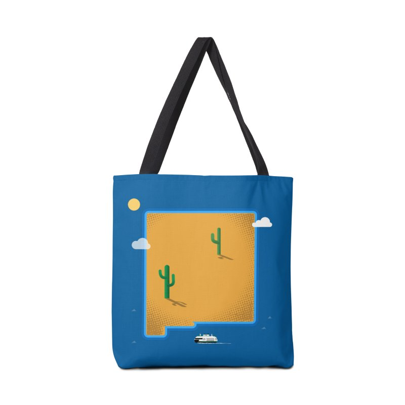 New Mexico Island Accessories Bag by Phillustrations's Artist Shop