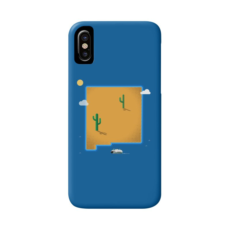 New Mexico Island Accessories Phone Case by Phillustrations's Artist Shop