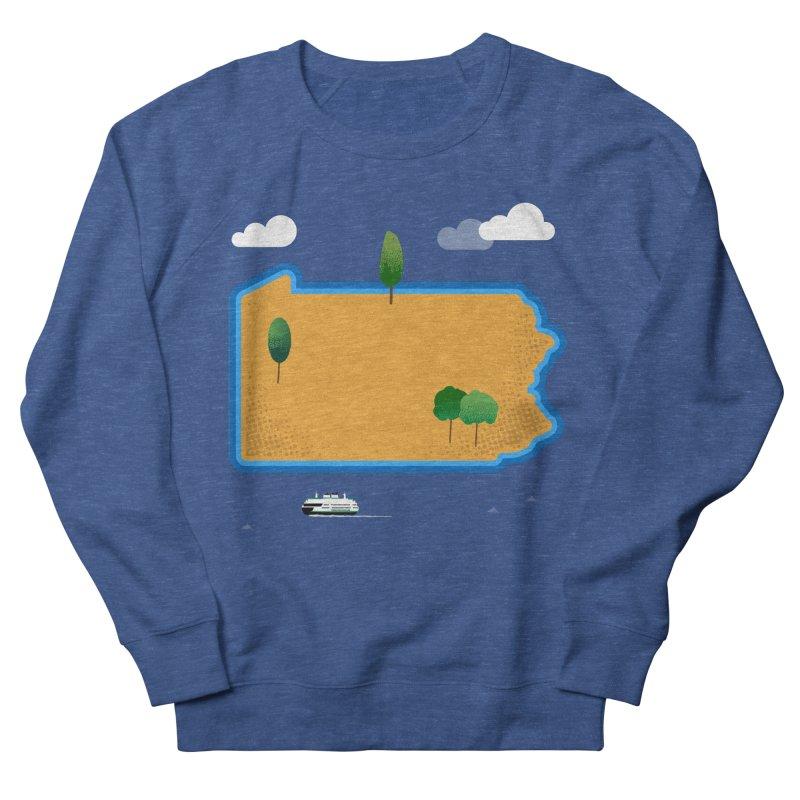 Pennsylvania Island Men's Sweatshirt by Phillustrations's Artist Shop